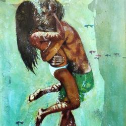 Amore clandestino 80x50 cm