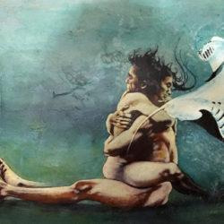 Amore clandestino 120x70 cm