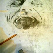 d'annunzio antonio disegno a matita